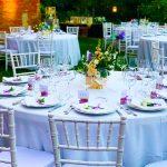 Allestimento tavoli